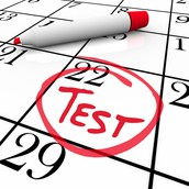 Upcoming Test and Quizzes