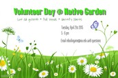 Volunteer at the Native Garden