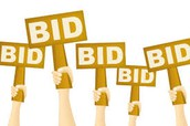 Online silent auction and raffle