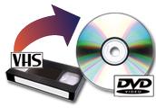 Pasa tus viejas cintas de vídeo VHS a la más moderna tecnología DVD