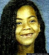 Beyoncé as a little girl