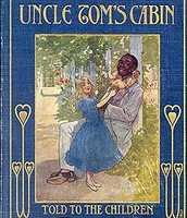 "Cover of Children's version of ""Uncle Tom's Cabin"""