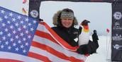 Running in Antartica