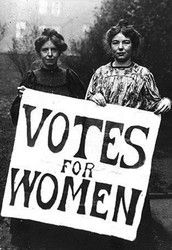 In february 1913 women could vote