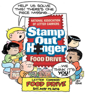 The 24th annual Letter Carriers' Stamp Out Hunger® Food Drive