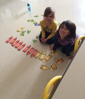 Center time-matching upper and lower case letters.