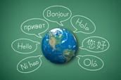 Parler des langues étrangères.
