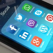 Social Media on your mobile device