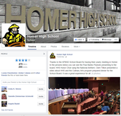 Homer High School is On Facebook