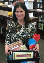 Patricia Garvin - March Staff Member of the Month