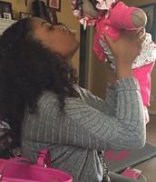 Erianna with God mom Brianna