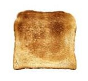This is a piece of toast