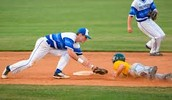 sliding to second