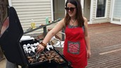 Tara is on the BBQ!