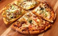 Une pizza