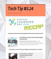 Digital Learning Day Recap