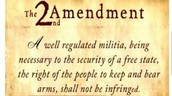 The Second Amendment, What is is, and why it was put forth.