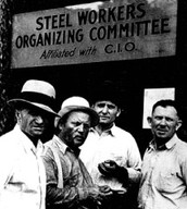 Workers from the Steel Industry