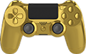 Ps4 Gold Edition Modded Controller