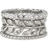 Laurel stackable bands -size 7