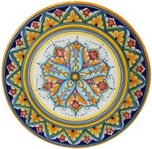 Hand-painted Majolica Ceramics from Deruta