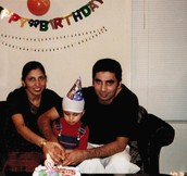 My First Birthday in Canada