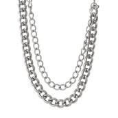 La Coco Curbchain - Silver