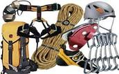 You will need climbing gear