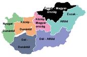 Regional Map of Hungary