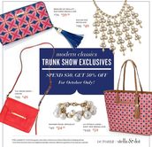 October Trunk Show Event Exclusives