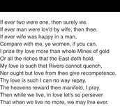 Wrote some loved poems (TO MY DEAR AND LOVING HUSBAND)