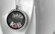 Initials and Heart Locket- $59 + shipping & tax