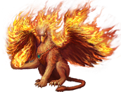 Flame Griffin