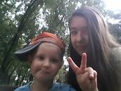 Я з двоюрідним братиком Тимофієм