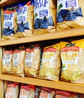We offer a variety of Vegan and Gluten Free chips.