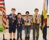 Cub Scout Members Receive Supernova Awards
