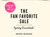 "Stella & Dot's Fan Favorite Flash Sale ""Spring Essentials"""