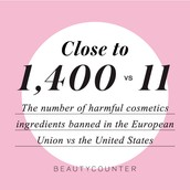 Beautycounter bans 1,500!