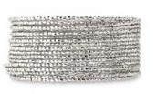 Silver Bardot Spiral Bangle