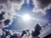 De zon die schijnt and if not sfeervolle stretchtent aanwezig