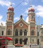 the synagogue is the place of worship for Jews.