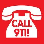 Call 9-1-1!