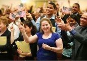 Become a U.S. citizen today through Naturalization!