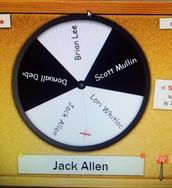And the winner is...Jack Allen