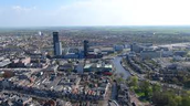 Leeuwarden from the air