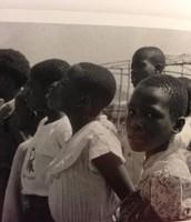 Refugee children from Zaire