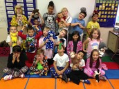 Being silly on PJ day!