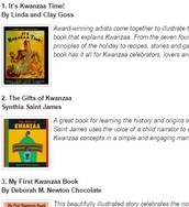 Kwanzaa Booklist