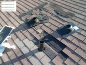 Repair/replace roofs.