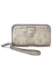 MADISON TECH WALLET - BRUSHED METALLIC